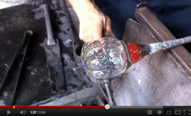Video of a lantern