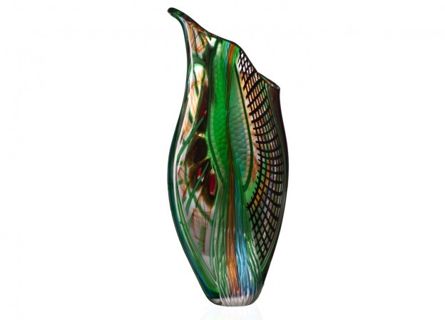 Handicraft Venetian glass vase CR1483 Murano glass artistic works