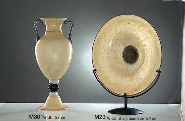 Handicraft Venetian glass vase M301 Murano glass artistic works