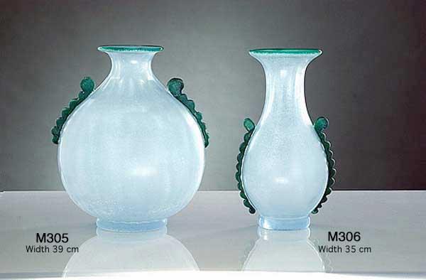 Handicraft Venetian glass vase M305 Murano glass artistic works