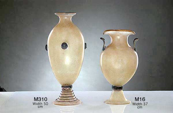 Handicraft Venetian glass vase M310 Murano glass artistic works
