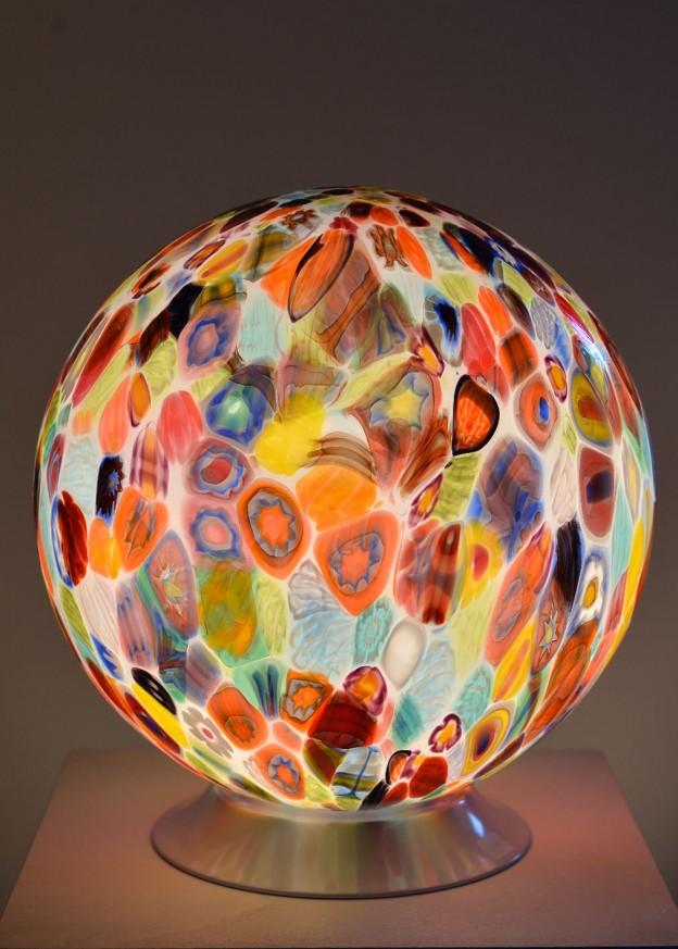 Venetian Floor lamp MUR05 Murano glass artistic works