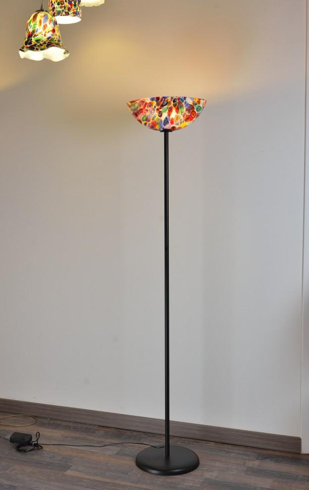 Venetian Floor lamp MUR08 Murano glass artistic works