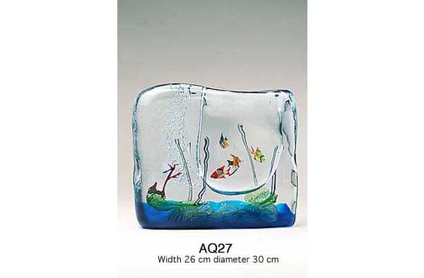 Venetian handmade aquarium AQ27 Murano glass artistic works