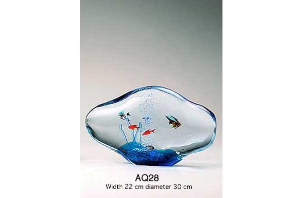 Venetian handmade aquarium AQ28 Murano glass artistic works