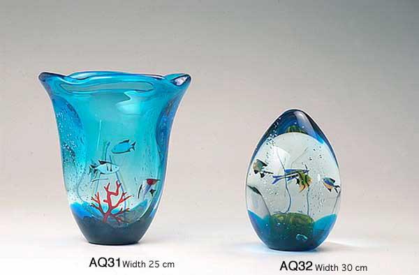 Venetian handmade aquarium AQ31 Murano glass artistic works