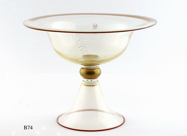 Antique Venetian glass vases Antichi Angeli Murano glass artistic works