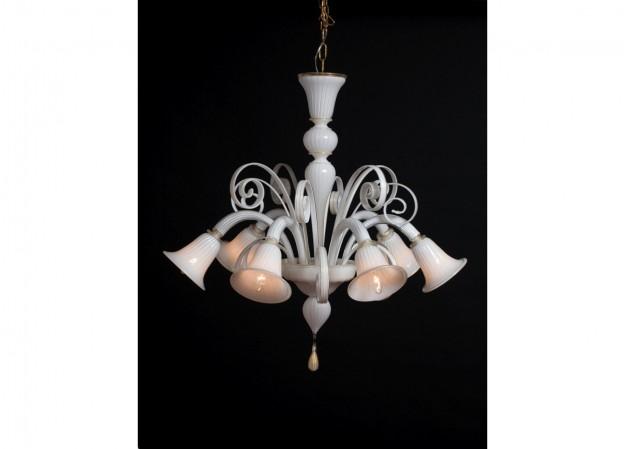 Handicraft Venetian chandelier CLARO Murano glass artistic works