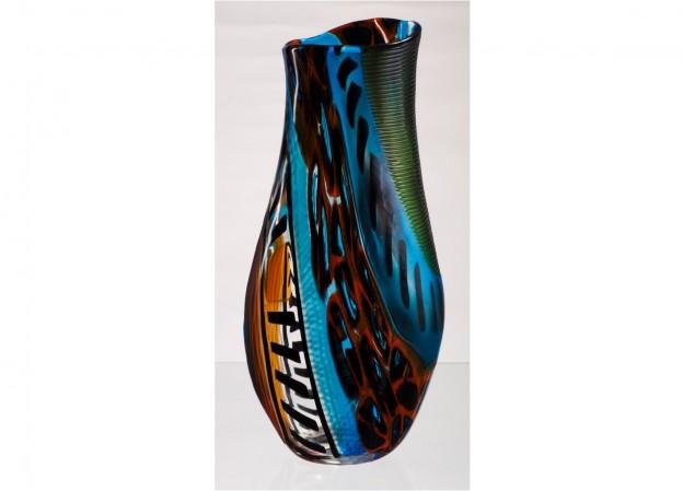 Handicraft Venetian glass vase CR1439 Murano glass artistic works