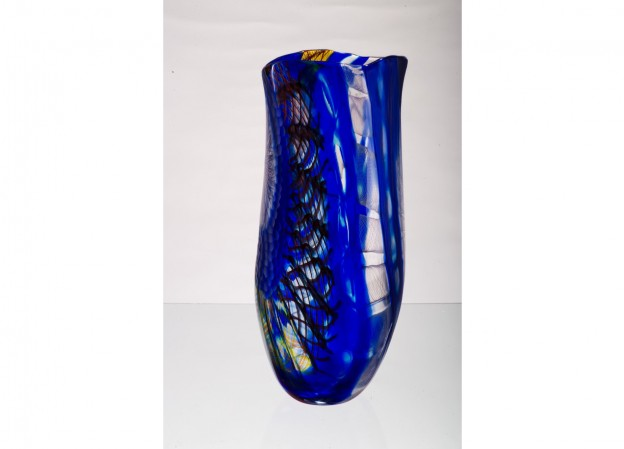 Handicraft Venetian glass vase CR1466 Murano glass artistic works