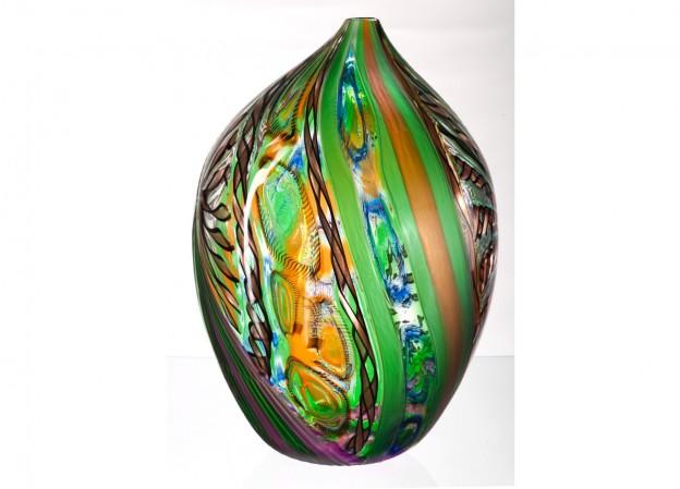 Handicraft Venetian glass vase CR1479 Murano glass artistic works