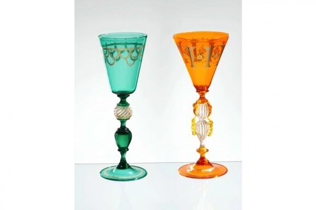 Handmade Venetian glass FU1365 Murano glass artistic works