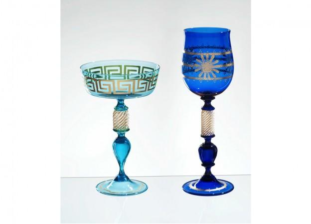 Handmade Venetian glass FU1369 Murano glass artistic works