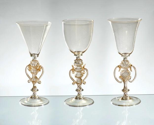 Handmade Venetian glass FU1370 Murano glass artistic works