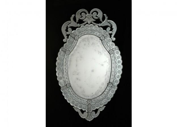 Handmade venetian mirror SP06 Murano glass artistic works
