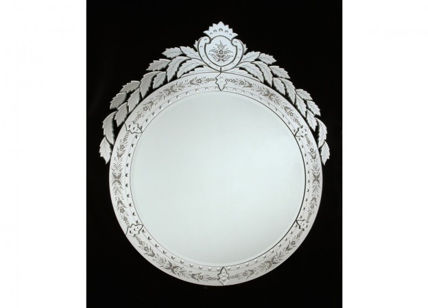 Handmade venetian mirror SP19 Murano glass artistic works