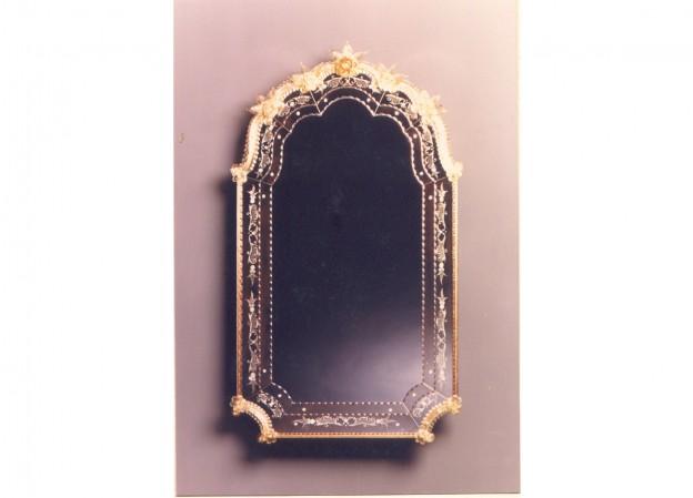 Handmade venetian mirror SP302 Murano glass artistic works