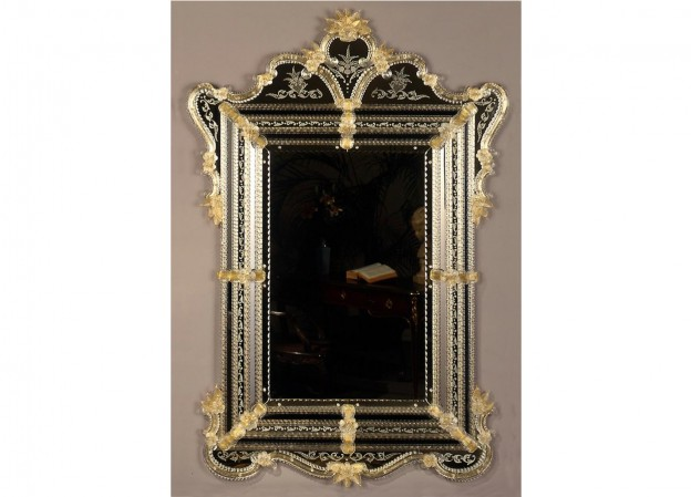 Handmade venetian mirror SP385 Murano glass artistic works
