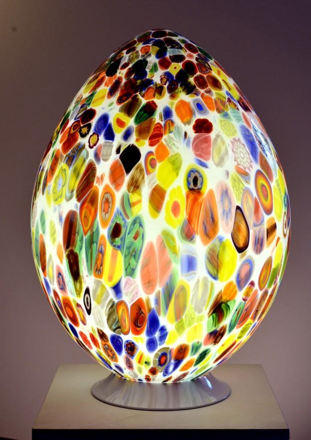 Venetian Floor lamp MUR03 Murano glass artistic works