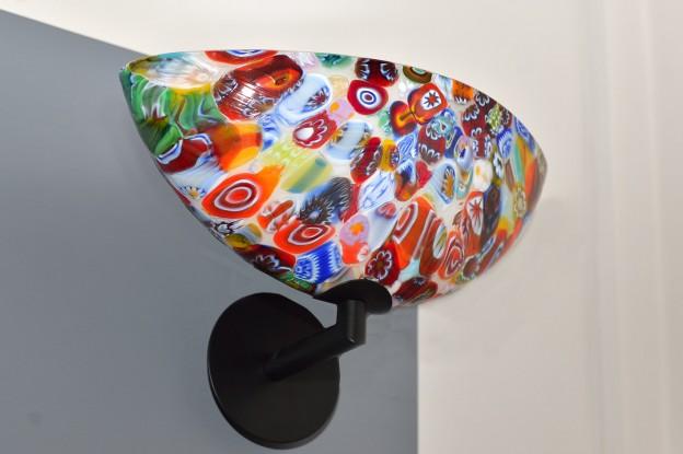 Venetian Floor lamp MUR10 Murano glass artistic works