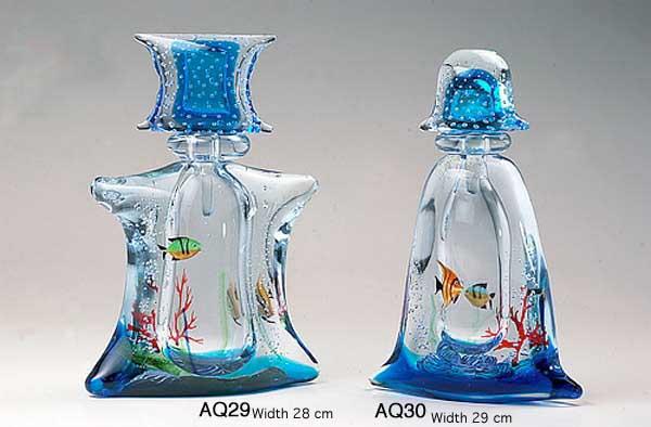 Venetian handmade aquarium AQ29 Murano glass artistic works